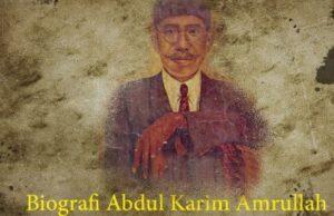 Biografi Abdul Karim Amrullah